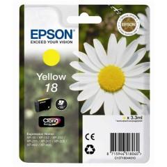 Cartridge do tiskárny Originální cartridge EPSON T1804 (Žlutá)