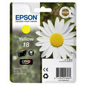 Originální cartridge EPSON T1804 (Žlutá)