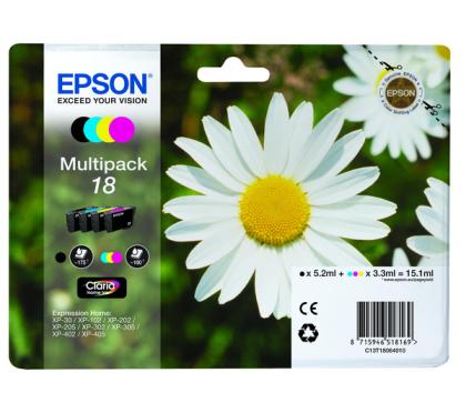 Sada originálních cartridge EPSON T1806 - obsahuje T1801-T1804