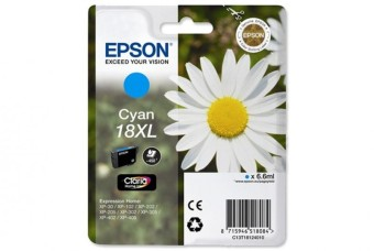 Originální cartridge EPSON T1812 (Azurová)