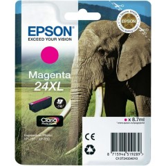 Cartridge do tiskárny Originální cartridge EPSON T2433 (Purpurová)