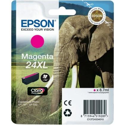 Originální cartridge EPSON T2433 (Purpurová)