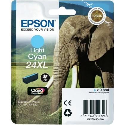 Originální cartridge EPSON T2435 (Světle azurová)