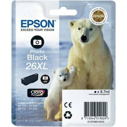 Originální cartridge EPSON T2631 (Foto černá)