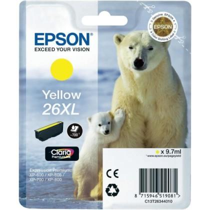 Originální cartridge EPSON T2634 (Žlutá)