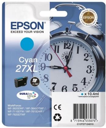 Originální cartridge EPSON T2712 (Azurová)