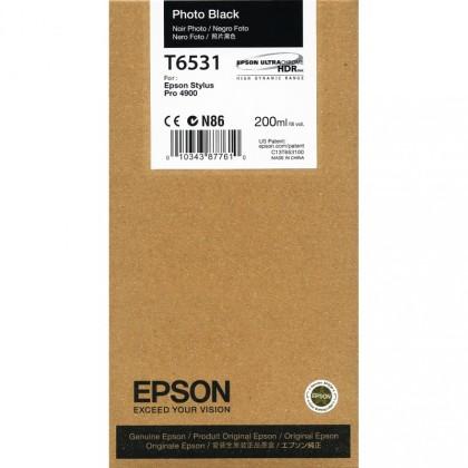 Originální cartridge Epson T6531 (Foto černá)