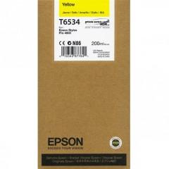 Cartridge do tiskárny Originální cartridge Epson T6534 (Žlutá)