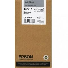 Cartridge do tiskárny Originální cartridge Epson T6537 (Světle černá)