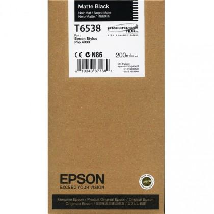 Originální cartridge Epson T6538 (Matně černá)