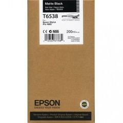 Cartridge do tiskárny Originální cartridge Epson T6538 (Matně černá)