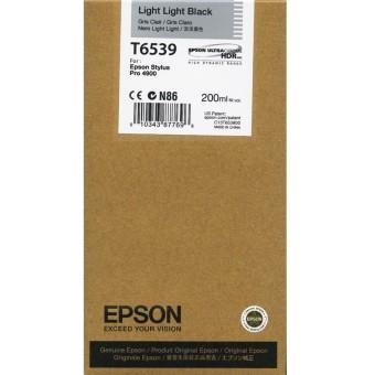 Originální cartridge Epson T6539 (Světle světle černá)