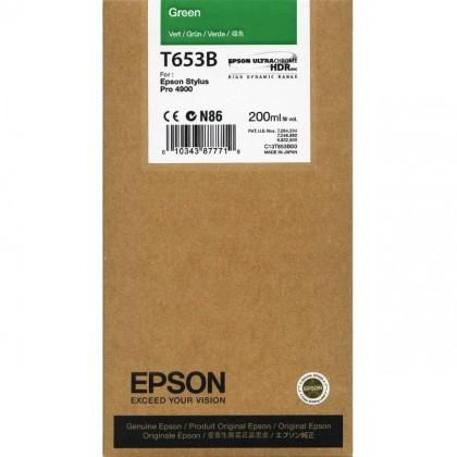 Originální cartridge Epson T653B (Zelená)