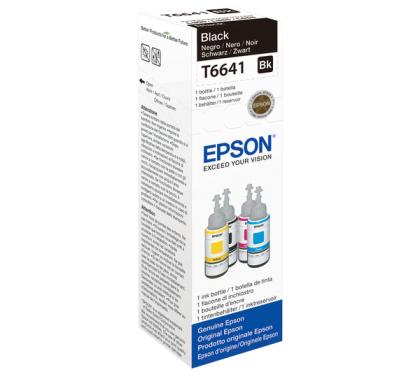 Originální lahev Epson T6641 (Černá)