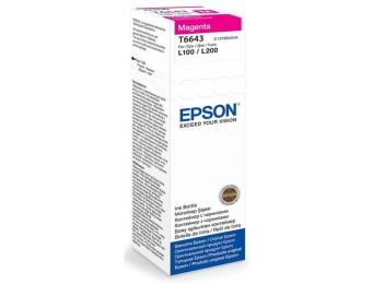 Originální lahev Epson T6643 (Purpurová)