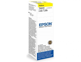 Originální lahev Epson T6644 (Žlutá)
