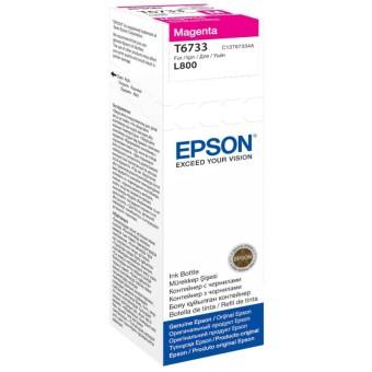 Originální lahev Epson T6733 (Purpurová)