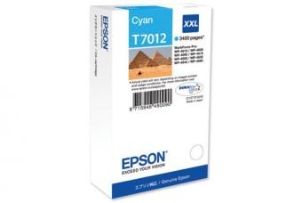 Originální cartridge EPSON T7012 XXL (Azurová)