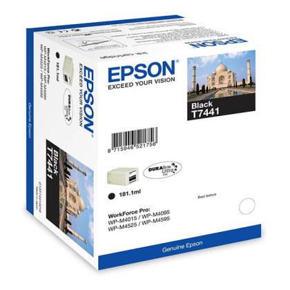 Originální lahev Epson T7441 (Černá)