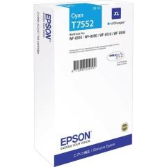 Cartridge do tiskárny Originální cartridge Epson T7552 (Azurová)