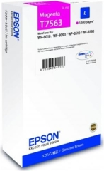 Cartridge do tiskárny Originální cartridge Epson T7563 (Purpurová)