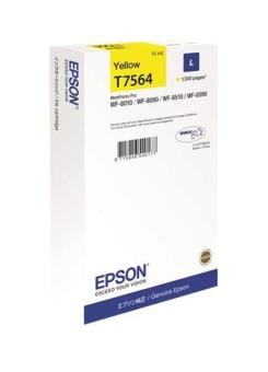 Originální cartridge Epson T7564 (Žlutá)