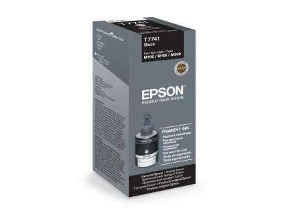 Originální lahev Epson T7741 (Černá)