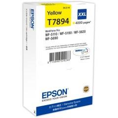Cartridge do tiskárny Originální cartridge EPSON T7894 (Žlutá)
