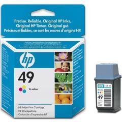 Cartridge do tiskárny Originální cartridge HP č. 49 (51649AE) (Barevná)
