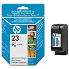 Cartridge do tiskárny Originální cartridge HP č. 23 (C1823D) (Barevná)