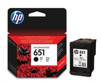 Originální cartridge HP č. 651 (C2P10AE) (Černá)