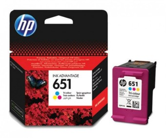Originální cartridge HP č. 651 (C2P11AE) (Barevná)