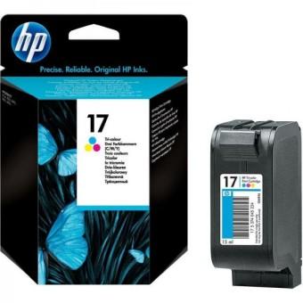 Originální cartridge HP č. 17 (C6625AE) (Barevná)