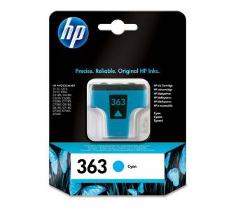 Originální cartridge HP č. 363 (C8771EE) (Azurová)