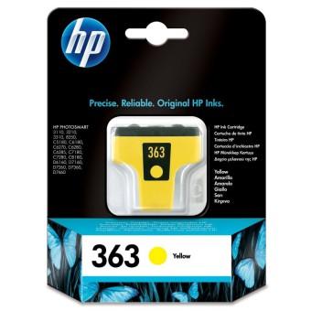 Originální cartridge HP č. 363 (C8773EE) (Žlutá)