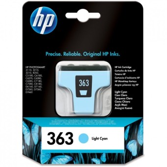 Originální cartridge HP č. 363 (C8774EE) (Světle azurová)