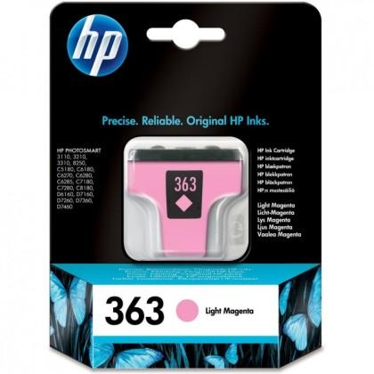 Originální cartridge HP č. 363 (C8775EE) (Světle purpurová)