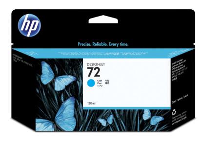 Originální cartridge HP č. 72 XL (C9371A) (Azurová)