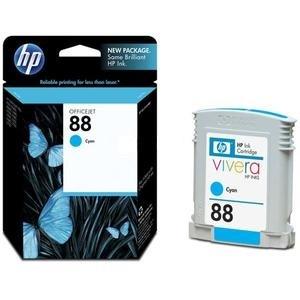 Originální cartridge HP č. 88 (C9386A) (Azurová)