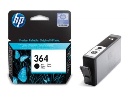 Originální cartridge HP č. 364BK (CB316EE) (Černá)