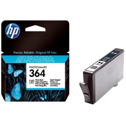 Originální cartridge HP č. 364PBK (CB317EE) (Černá photo)