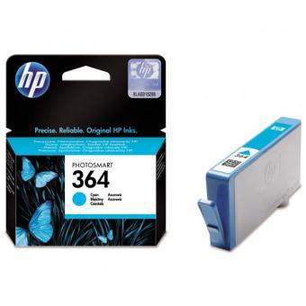 Originální cartridge HP č. 364C (CB318EE) (Azurová)