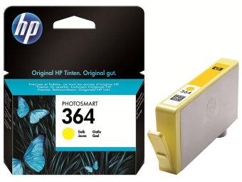 Originální cartridge HP č. 364Y (CB320EE) (Žlutá)