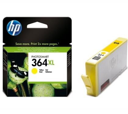 Originální cartridge HP č. 364Y XL (CB325EE) (Žlutá)
