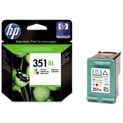 Cartridge do tiskárny Originální cartridge HP č. 351 XL C (CB338EE) (Barevná)