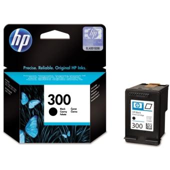 Originální cartridge HP č. 300 BK (CC640EE) (Černá)