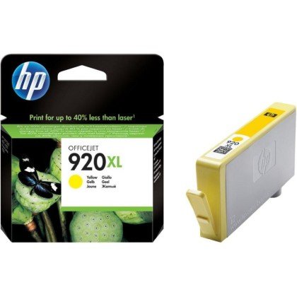 Originální cartridge HP č. 920Y XL(CD974AE) (Žlutá)