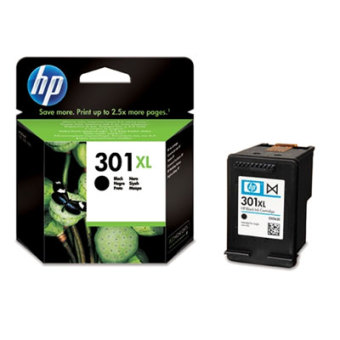 Originální cartridge HP č. 301 BK XL (CH563EE) (Černá)