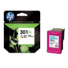 Cartridge do tiskárny Originální cartridge HP č. 301 C XL (CH564EE) (Barevná)