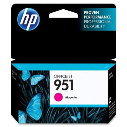 Originální cartridge HP č. 951M (CN051AE) (Purpurová)